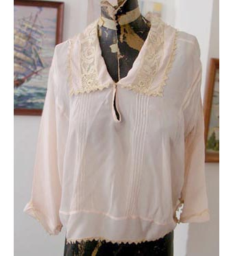 20s silk blouse