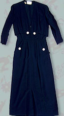 vintage 40s Paul Parnes dress