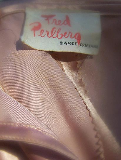 vintage late 40s Fred Perlberg label