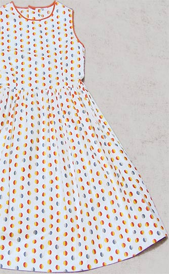 Vintage Polka-dot sundress, late 1950s to mid 1960s | deadlyvintage.com