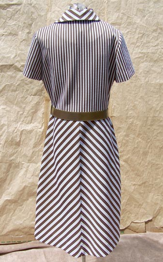 vintage 60s Bleeker Street mod space age dress