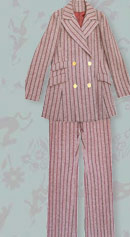 vintage late 60's pants suit