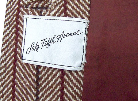 late 60's Saks label