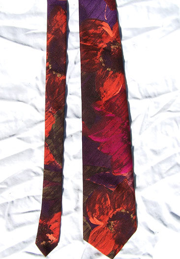 vintage McGregor watercolor tie