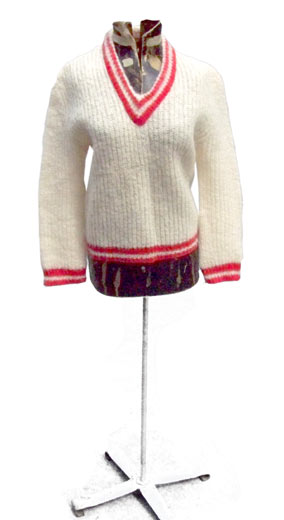 vintage 50s mohair sweater
