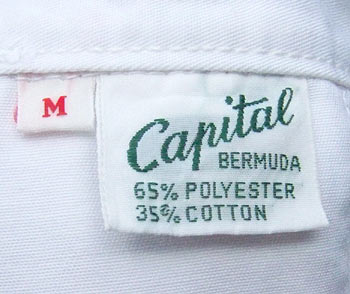 vintage Capital of Bermuda label