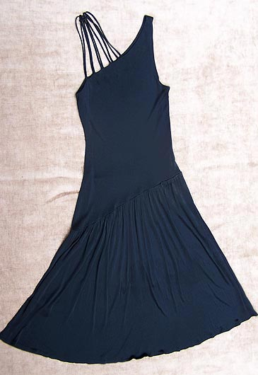 vintage 70s black cocktail dress