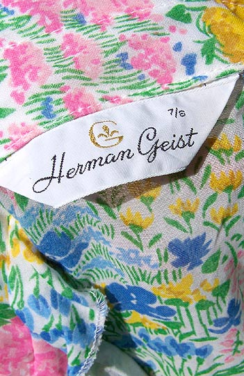 vintage 70s Herman Geist label