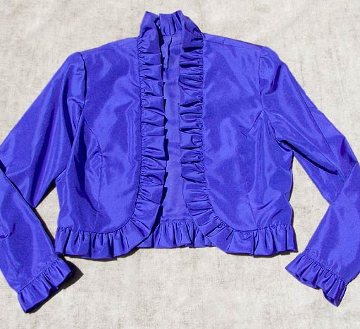 vintage 70s Miss Elliette evening jacket