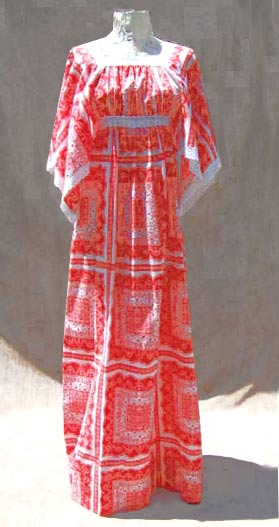 vintage bohemian peasant dress