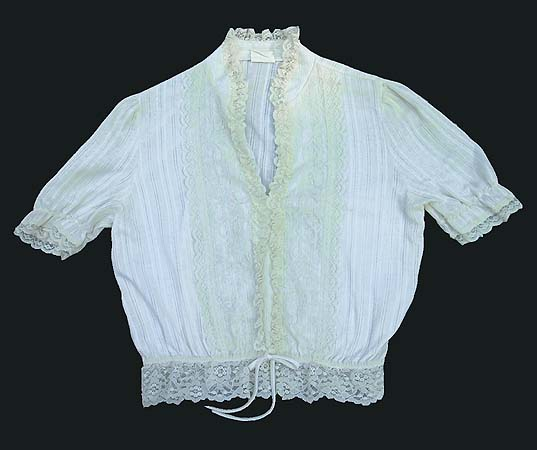70s sheer blouse