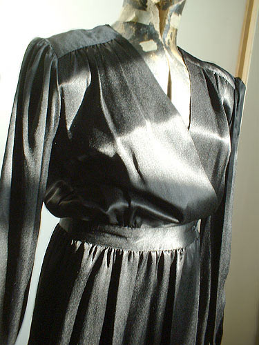 vintage Pierre Cardin wrap dress