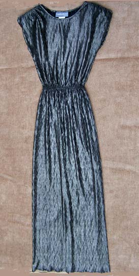 vintage 80s glam maxi dress
