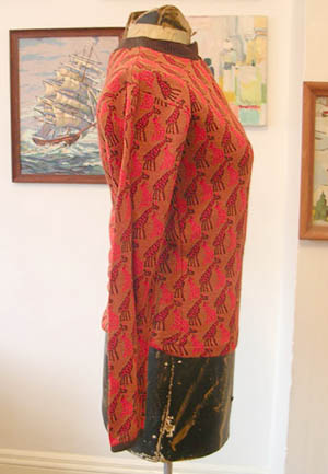 giraffe 60s knit top