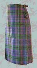 lavendar Scottish kilt