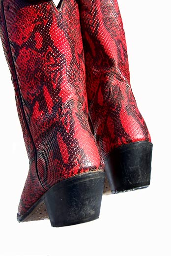 red Laredo short boots