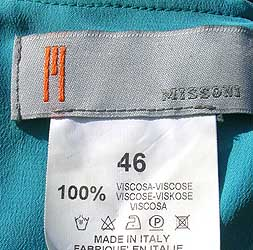 Missoni label