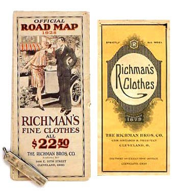 vintage Richman Brothers ads