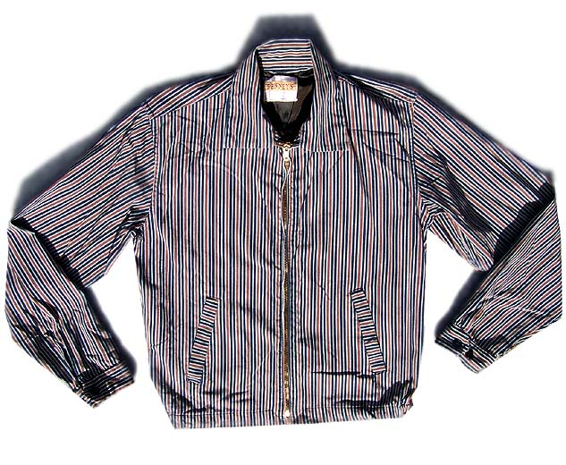 50s rockabilly stripe jacket