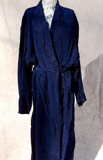 vintage 40s 50s Towncraft mens dressing robe