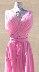 vintage 50s Vanity Fair chiffon nightgown