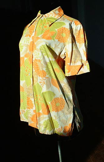 vintage 60s hawaiian shirt