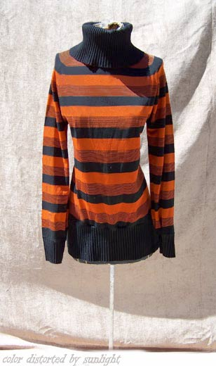 vintage 60s cowl-neck sweater
