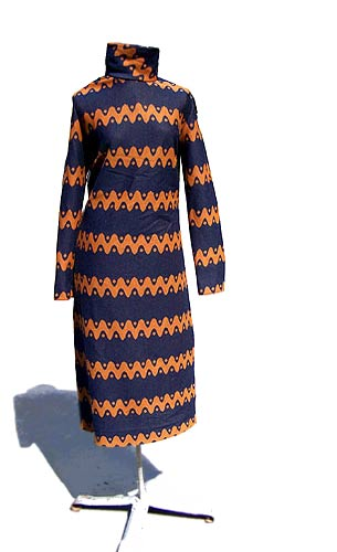 vintage 60s mod tunic dress