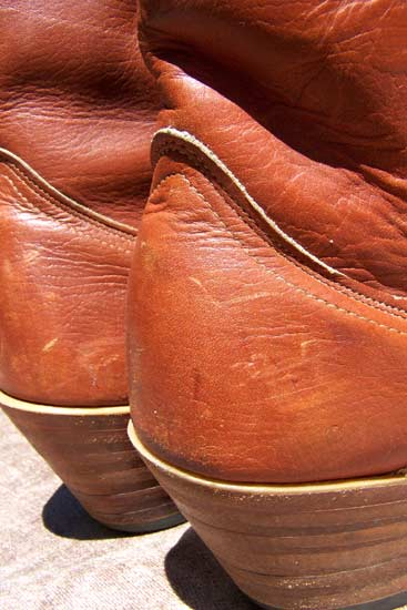 vintage HH western boots