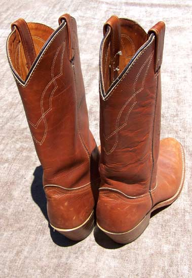 vintage HH cowgirl boots