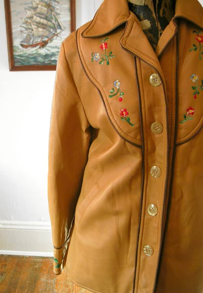 vintage 70s rock ethnic jacket