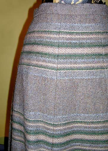 vintage 60s Scots tweed skirt