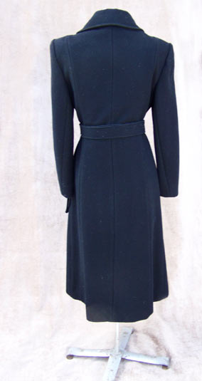 vintage 60s heavy wool coat