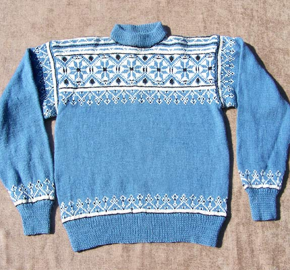 vintage 60s 50s mens pattern sweater