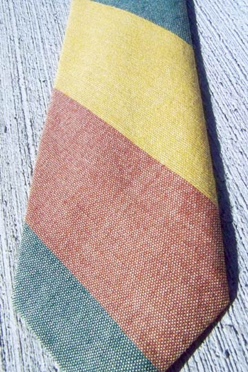 vintage 50s preppy pima cotton tie