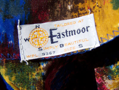 vintage 60s Eastmoor label