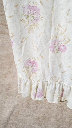 vintage 60s floral nightgown robe