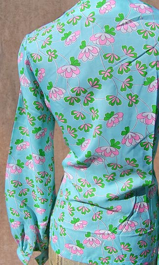 vintage 60s 70s Posh Jay Anderson floral blouse