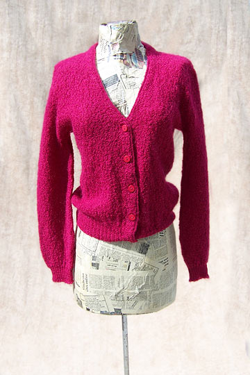 Vintage Lampl mohair cardigan late 1950s to mid 1960s free shipping deadlyvintage com from deadlyvintage.com