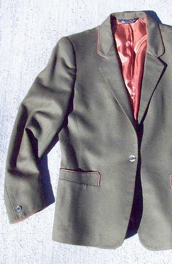 vintage 80s piped tyrol wool jacket