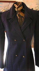 vintage London Fog navy coat