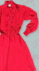 vintage 80s Lilli Ann dress