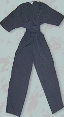 vintage 80s new wave jumpsuit