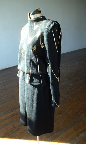 vintage 80s I.Magnin decorated sweater