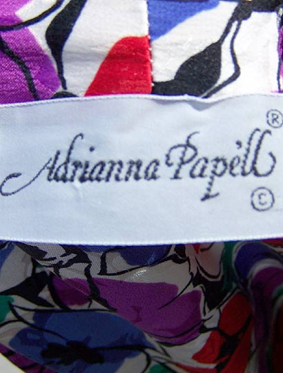 vintage 80s 90s Adianna Papell label