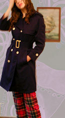 vintage 60's Misty Harbor trench