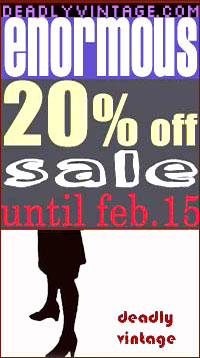 vintage clothing sale through January 15